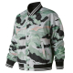 Essentials Aqua Camo Stadium Jacket