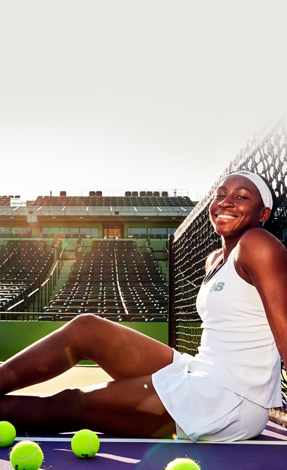 coco gauff sign up banner